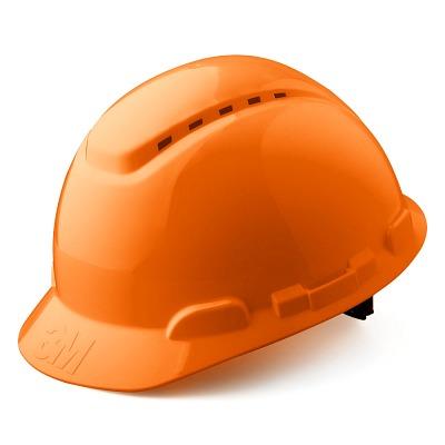 Каска защитная ЗМ Н-700 (оранжевая)