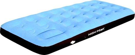 Матрац надувной Air bed Single Comfort Plus синий/коричневый, 185 x 74 x 20 см, 40065