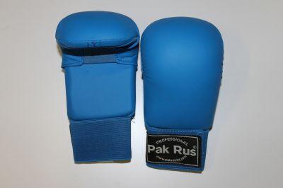 Перчатки для карате Pak Rus синие