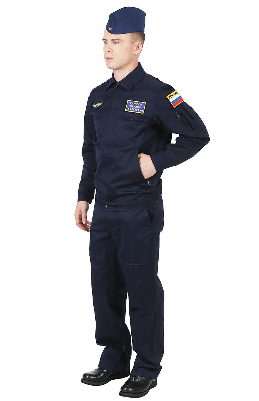 1168/1169 костюм летний для авиатехника смесовая
