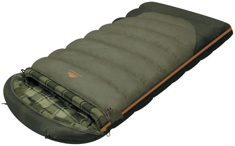Мешок спальный CANADA plus одеяло, серый, правый