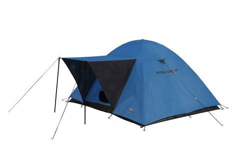 Палатка Texel 4 синий/тёмно-серый, 220х240х130 см, 10178