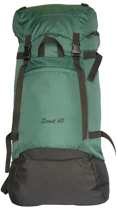 Рюкзак Скаут 60л цвет т.зеленый