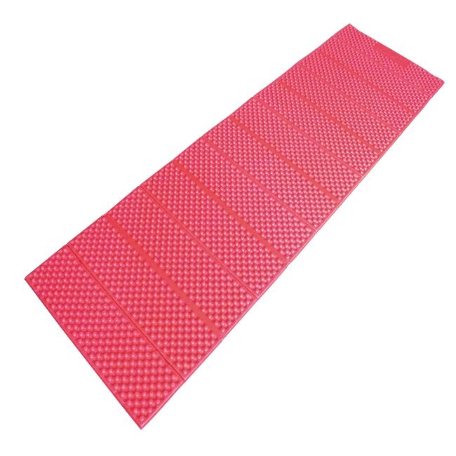 Коврик Портативный складной 186 x 56 x 1 см. Чёрно-красный, 3941