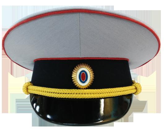 Фуражка Полиция полушерсть парадная уставная