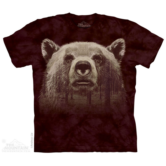 Футболка The Mountain Bear fase Forest
