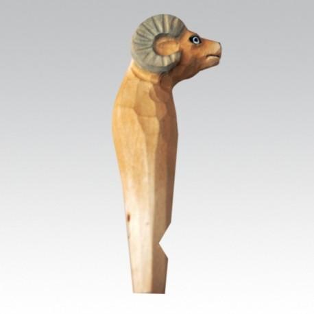 Брелок Свисток-Коза (упак=10 шт), 3358