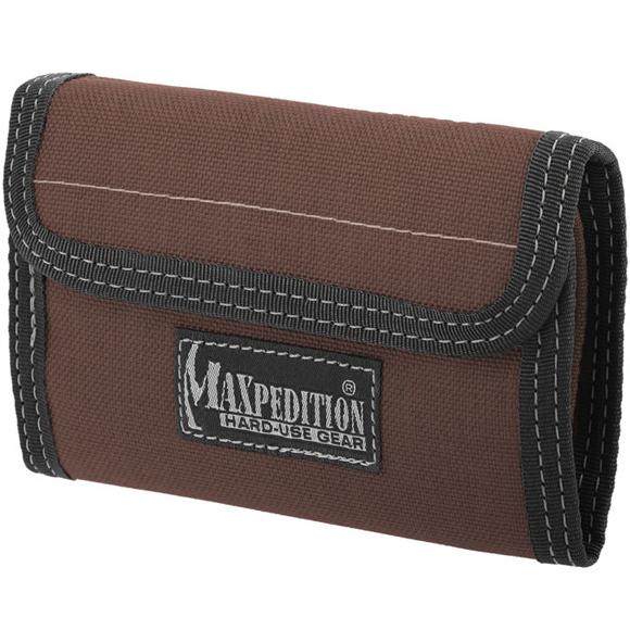 Кошелек Maxpedition Spartan Wallet dark brown