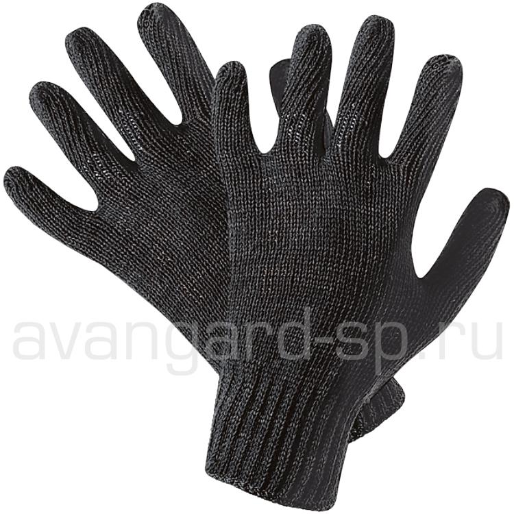 Перчатки полушерстяные одинарные 10 класс (56г)