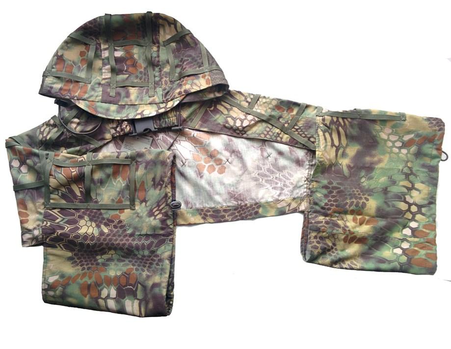 Накидка для снайпера МПА-45 питон лес, ткань Мираж-210