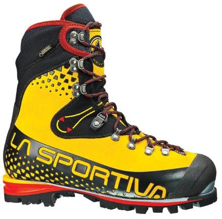 Ботинки для технических восхождений и микстовых маршрутов La Sportiva Nepal Cube GTX Yellow