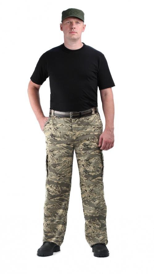 Брюки мужские Захват, камуфляж, ткань грета серый легион
