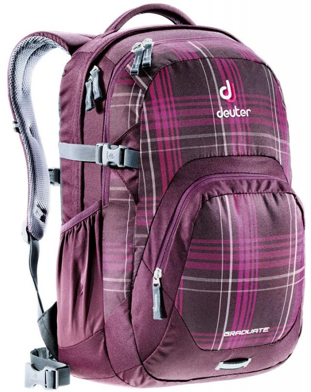 Рюкзак Deuter 2015 Daypacks Giga aubergine check (б/р:UNI)