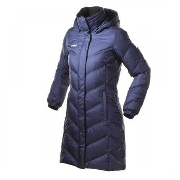 Женское пуховое пальто Баск ROUTE V3 СИНИЙ ТМН L L