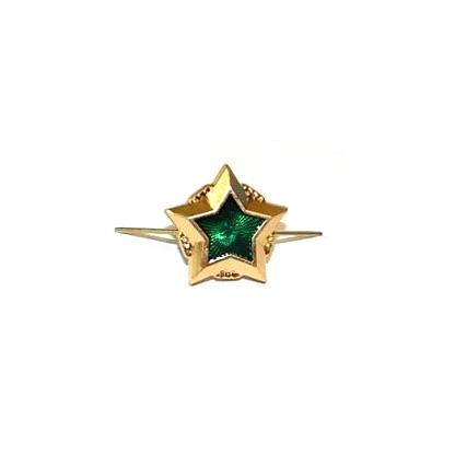 Знак различия Звезда ФССП большая золотая металл