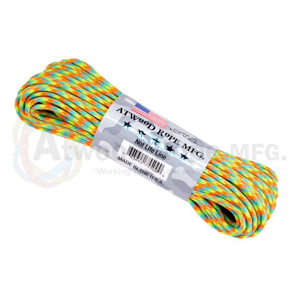 Паракорд ATWOODROPE 550 PARACHUTE CORD 30м dragonfly