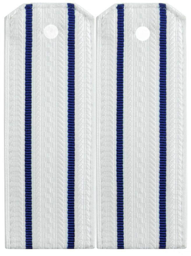 Погоны ФСБ Старшего офицерского состава белые