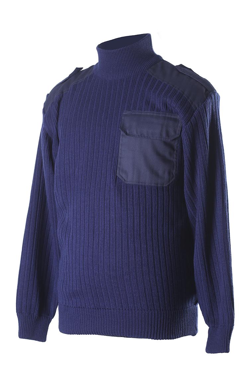 4304 свитер с высоким воротом (стойка) п/ш