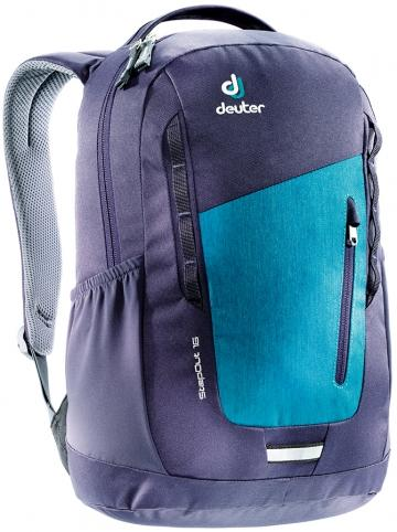 Рюкзак Deuter 2015 Daypacks StepOut 16 petrol dresscode-blueberry (б/р:UNI)
