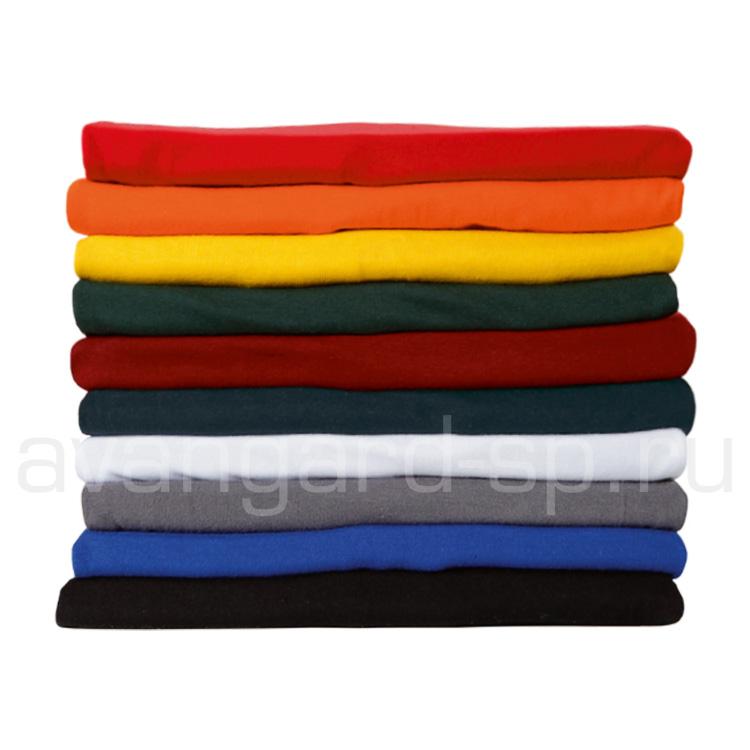 Футболки мужские, короткий рукав, 160гр/м.кв., 100% хлопок (цв.серый)