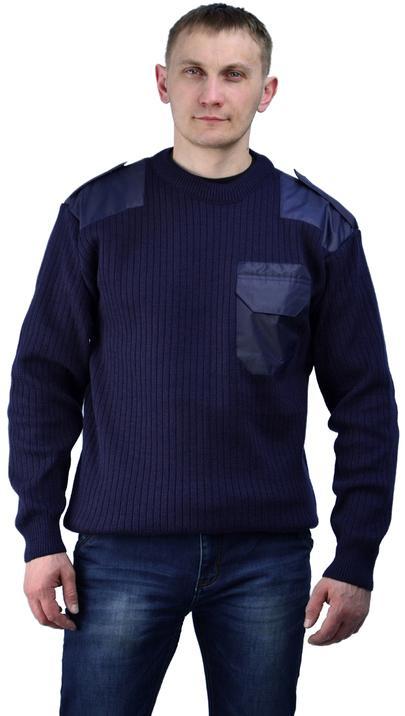 Джемпер П/Ш форменный т-синий