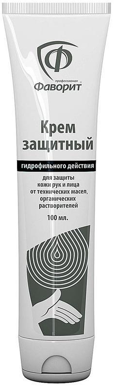 Крем защитный гидрофильного действия Фаворит профессионал 100мл.