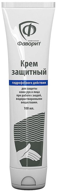 Крем защитный гидрофобного действия Фаворит профессионал 100мл.