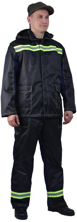 Костюм летний мужской Автомойщик (куртка/полукомбинезон)
