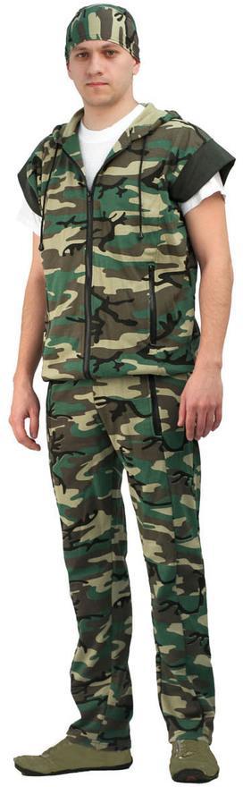 Костюм трикотажный жилет + брюки