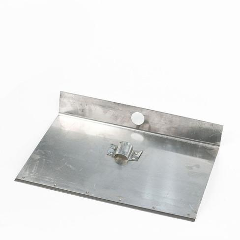 Лопата снеговая алюминиевая однобортная