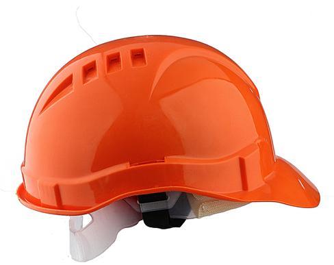Каска промышленная ЕВРОПЛАСТ оранжевая