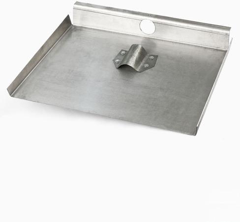 Лопата снеговая алюминиевая трехбортная с метал. накладкой