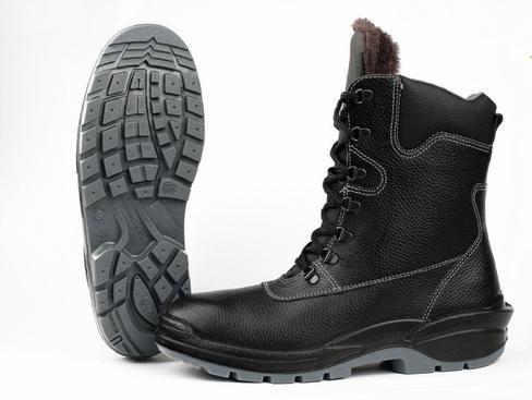 Ботинки с высоким берцем Алтай на натуральном меху