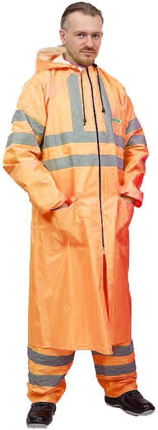 Плащ «Extra Vision WPL» нейлоновый оранжевый