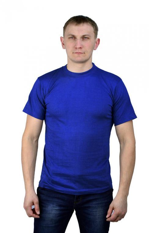 Футболка т-синяя