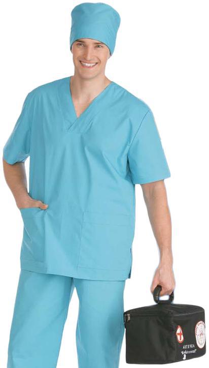 Костюм хирургический бирюзовый