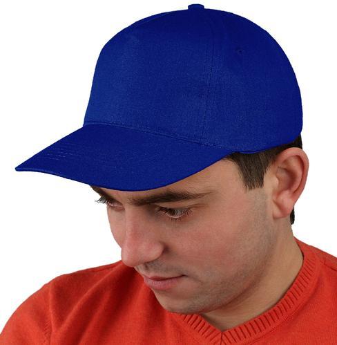 Бейсболка т-синяя