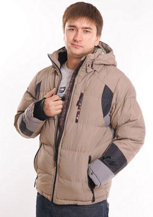 Куртка из холлофайбера мужская