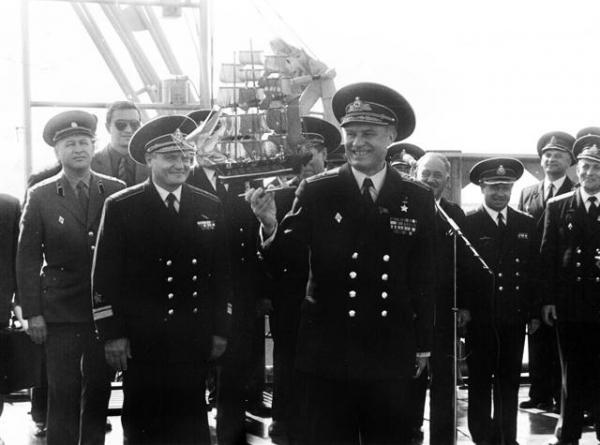 История формы ВМФ