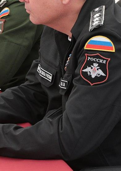 Нашивки гражданских служащих Министерства Обороны России